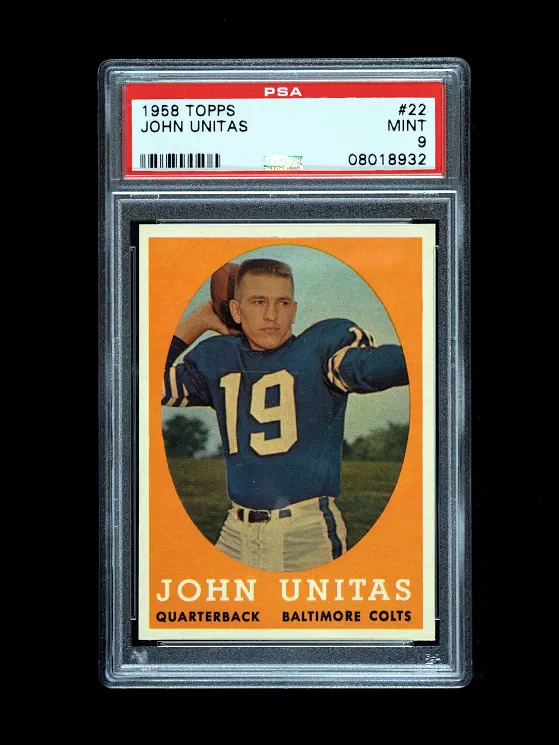 Johnny Unitas 1958 - sold