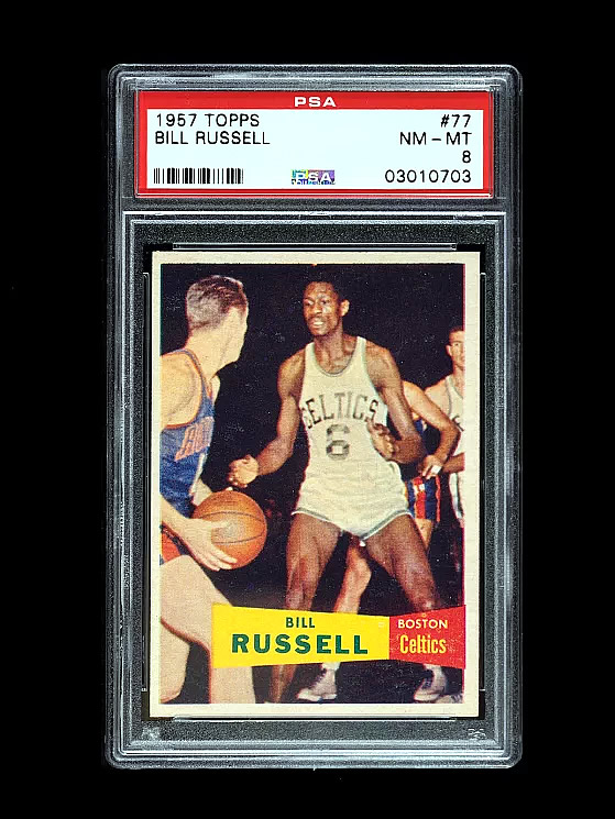 Bill Russell 1957 Rookie