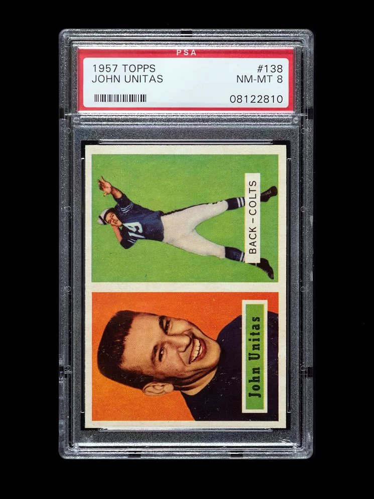 Johnny Unitas 1957 Rookie