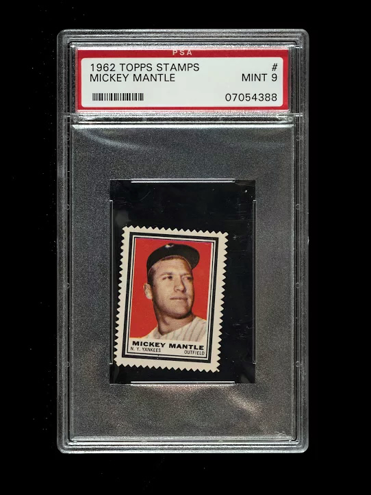 Mickey Mantle 1962 Stamp